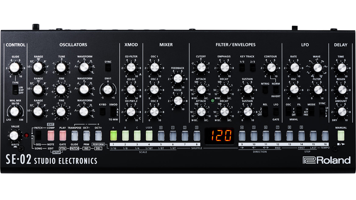 Black Friday synth deal: Save $100 on Roland's Boutique SE-02 analog synth