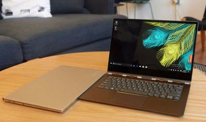 Yoga 920 Lenovo S Flagship 2 In 1 Gets 8th Gen Core New Bronze Color Laptop Mag