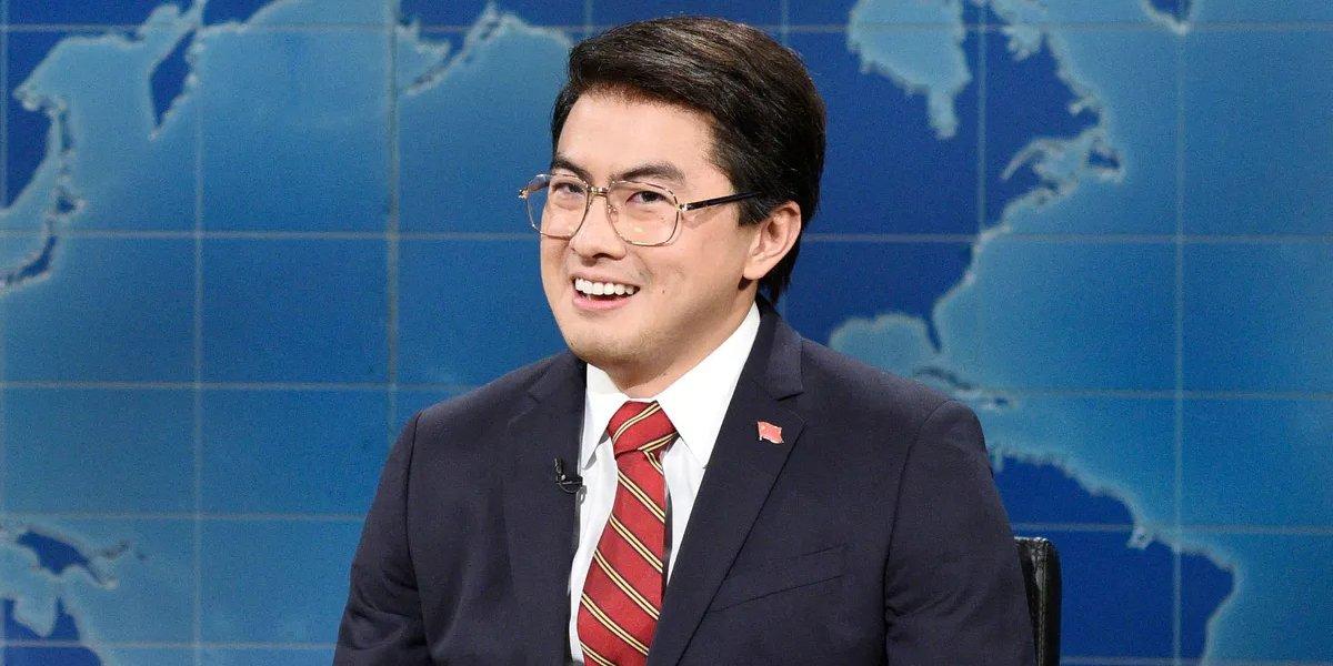 Bowen Yang as Trade Daddy on Saturday Night Live