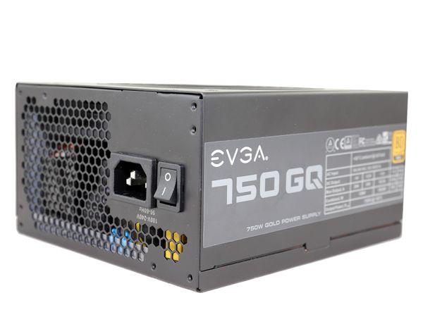 750W EVGA GQ Gold Hybrid PSU