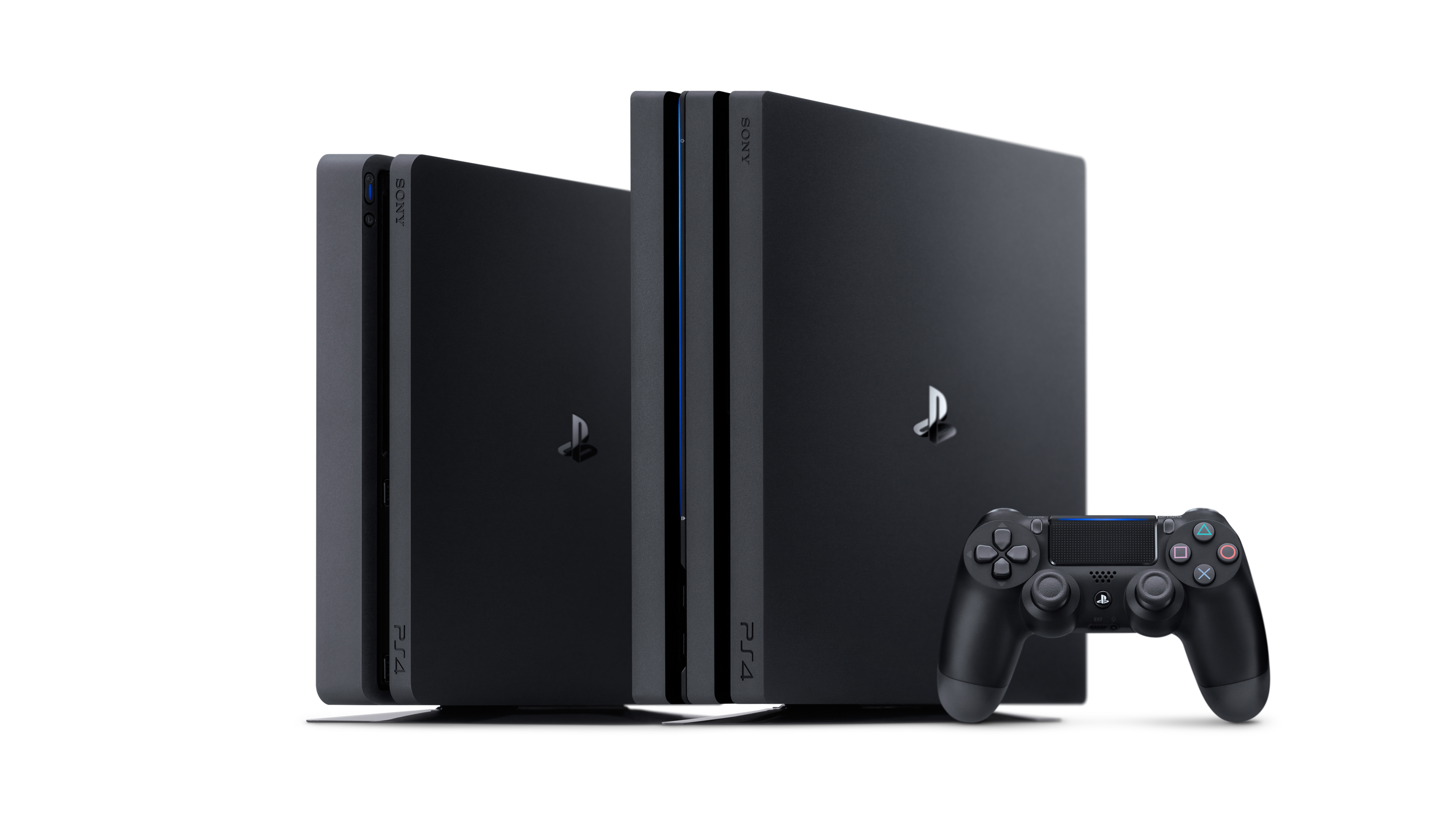 Ps4 Pro Vs Whats The Difference Techradar Sony Playstation 4 500gb Black