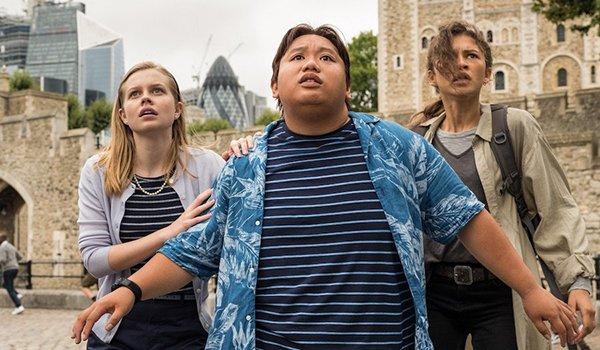 Peter's classmates having an eventful London trip