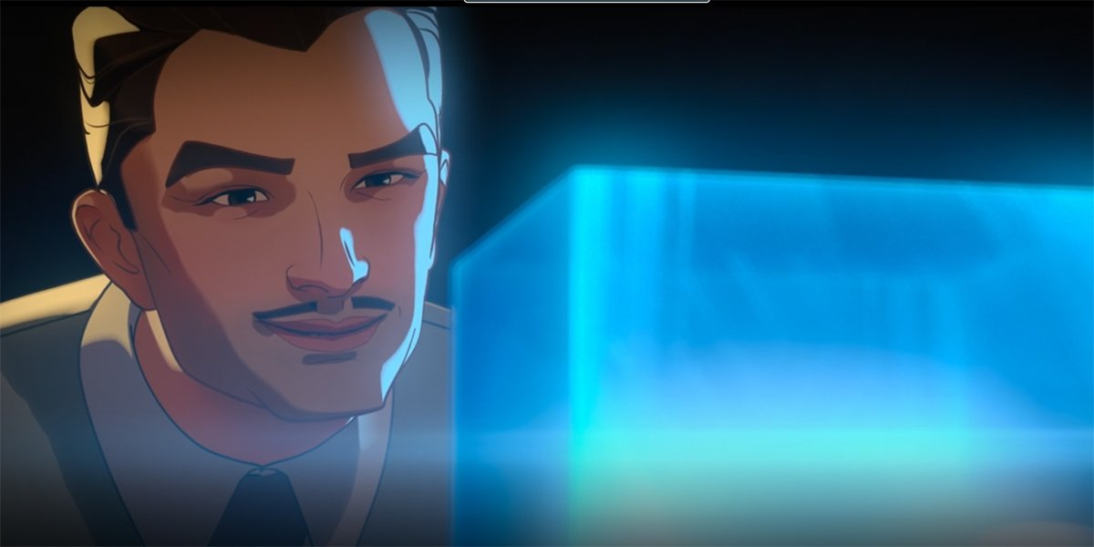 Howard Stark Uses Tesseract Energy in What If