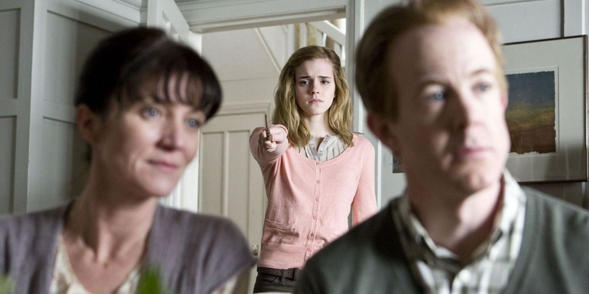 Hermione erasing her parent's minds