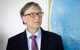Bill Gates in Berlin on April 19, 2018.