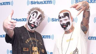 Insane Clown Posse sporting Juggalo make up
