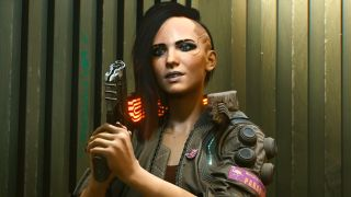 One version of main character V from Cyberpunk 2077.