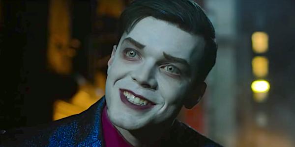 cameron monaghan's jeremiah smiling in Gotham Season 5