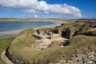 skara brae, preserved prehistoric village
