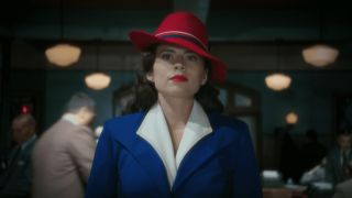 Hayley Atwell as Peggy Carter in Agent Carter