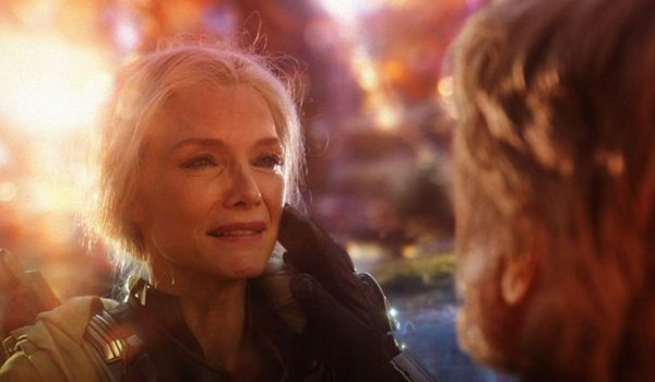 Michelle Pfeiffer as Janet van Dyne in Ant-Man And The Wasp