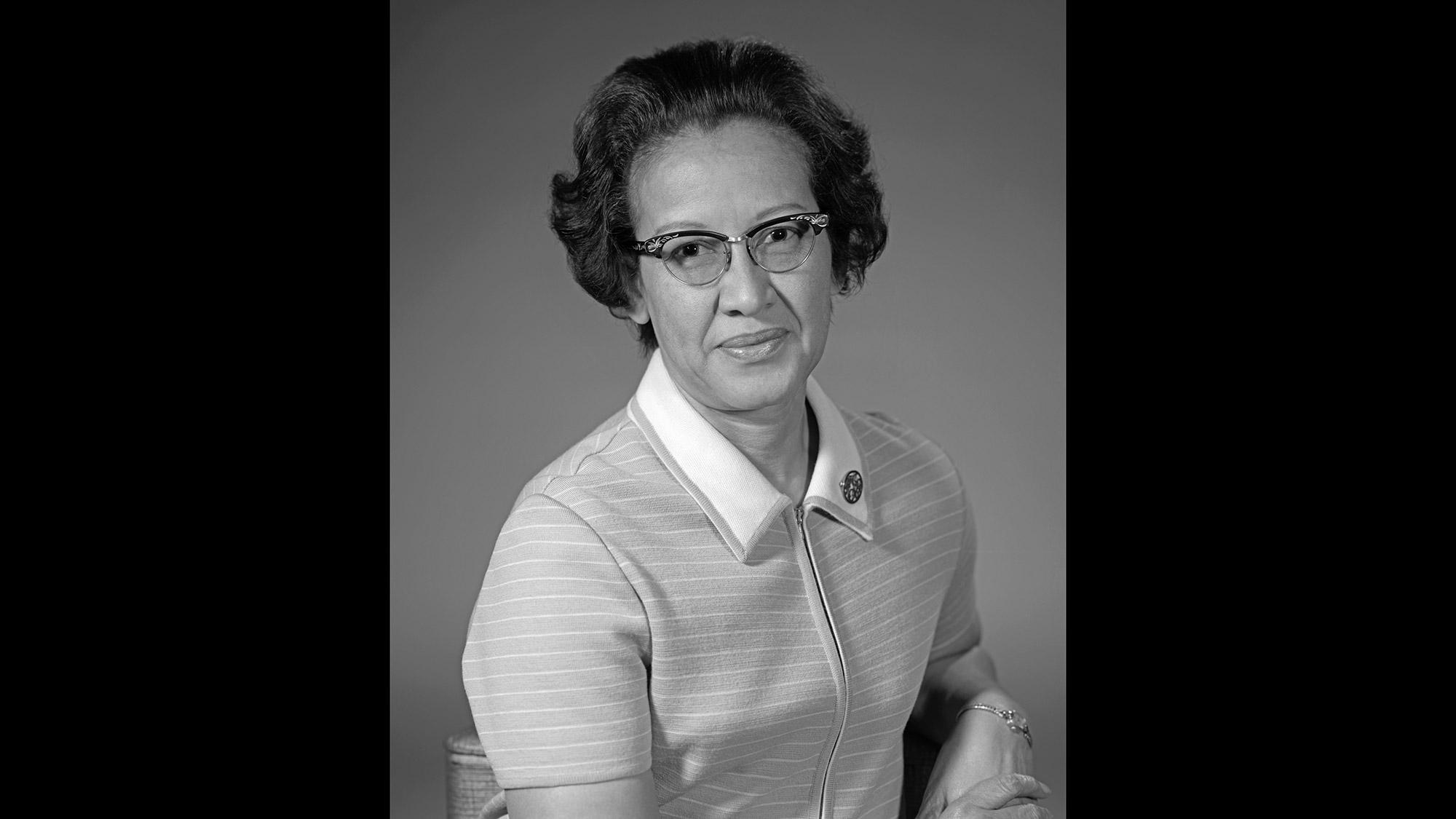 Katherine Johnson-NASA-African American Physicist-Space Program Scientist