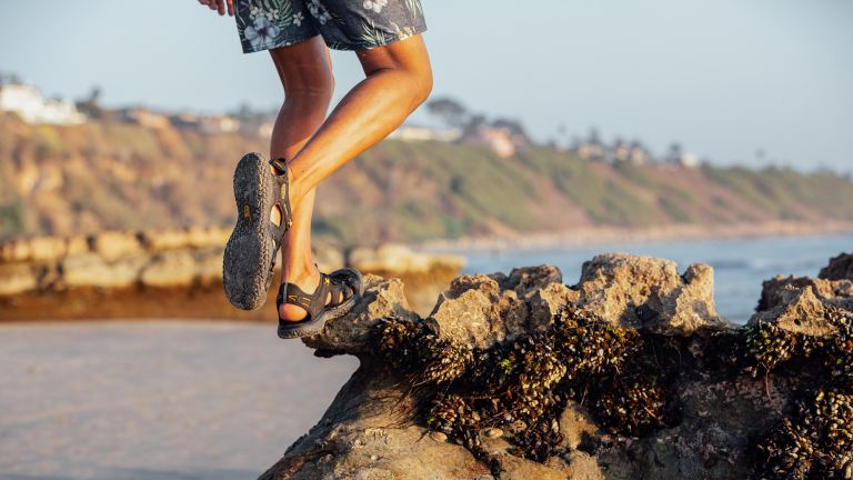 best walking sandals: Keen SOLR
