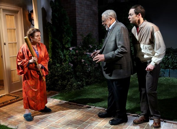 The Big Bang Theory Carrie Fisher James Earl Jones