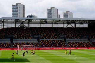 Brentford v Wycombe Wanderers – Carabao Cup – First Round – Brentford Community Stadium