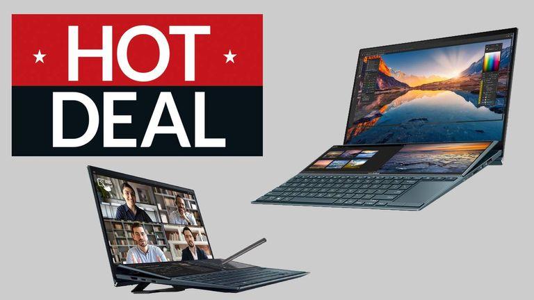 Hot Deal, Asus Zenbook Duo 14 Laptop, Currys deal, Pre Black Friday deals