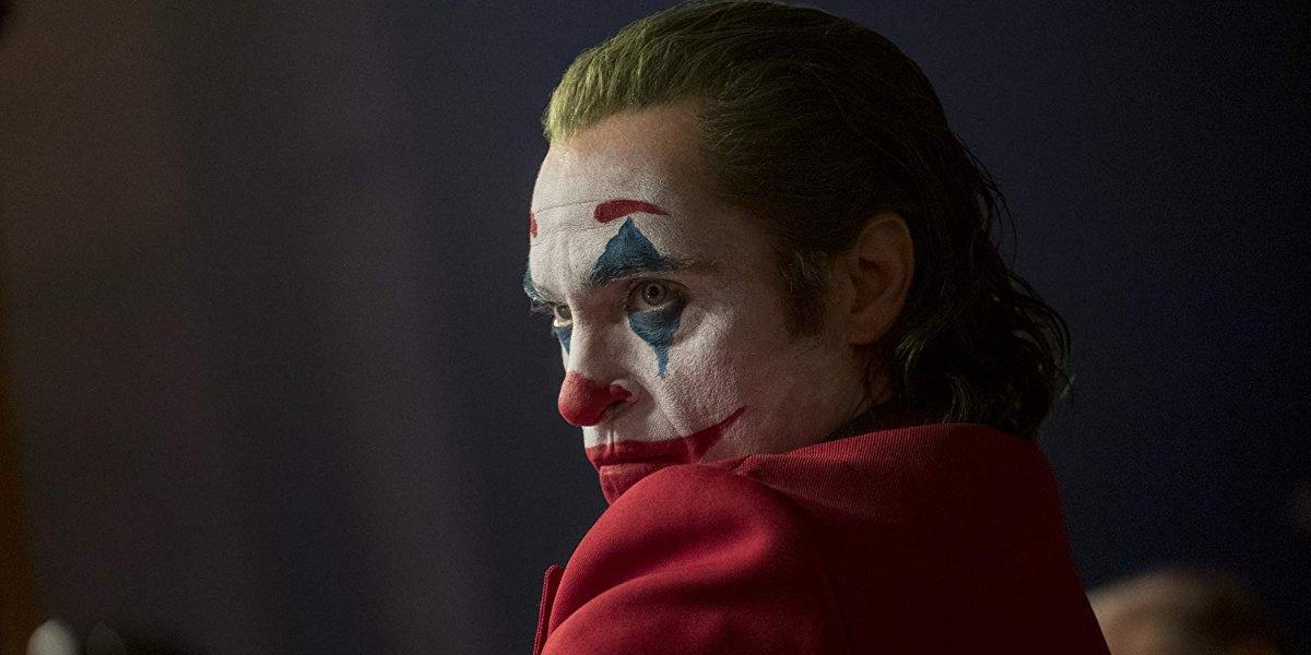 Joker scowling