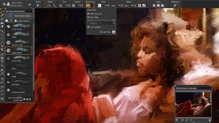 Best digital art software: Corel Painter 2022