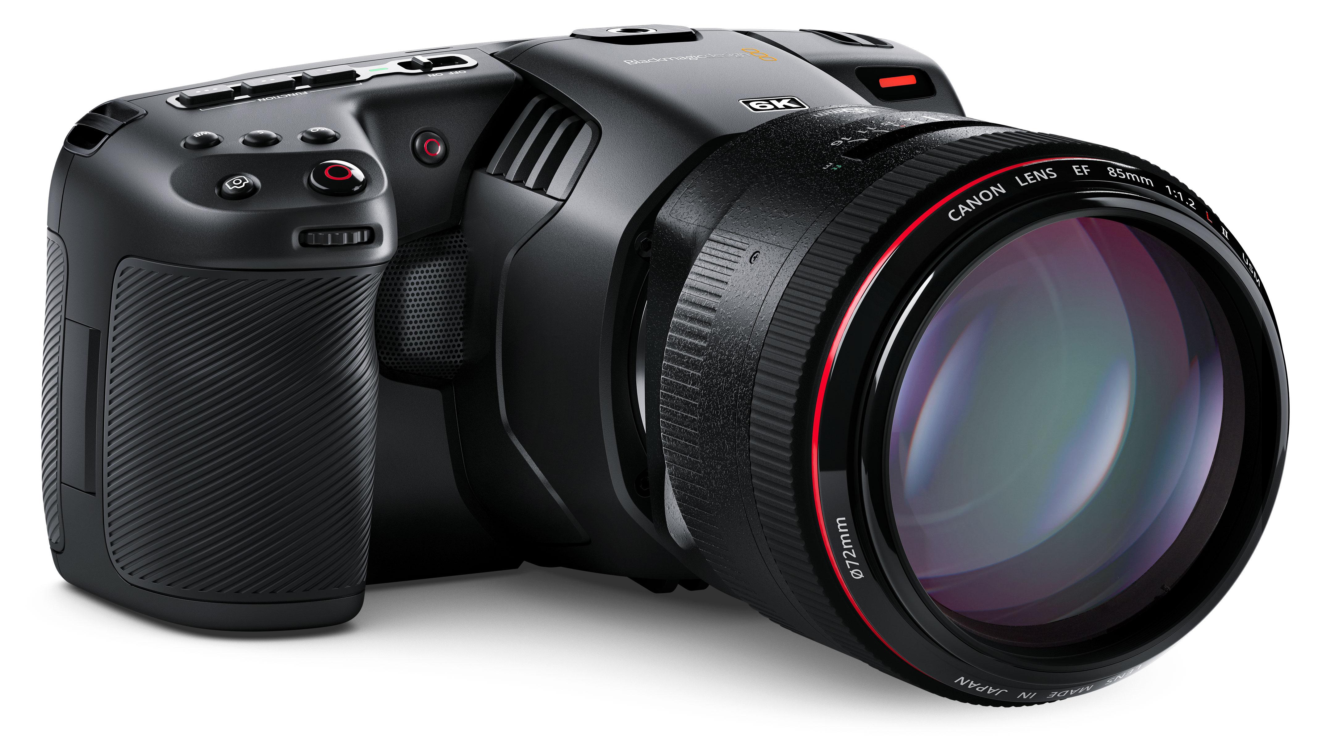 Blackmagic Pocket Cinema Camera 6K raises the bar for video resolution   Digital Camera World