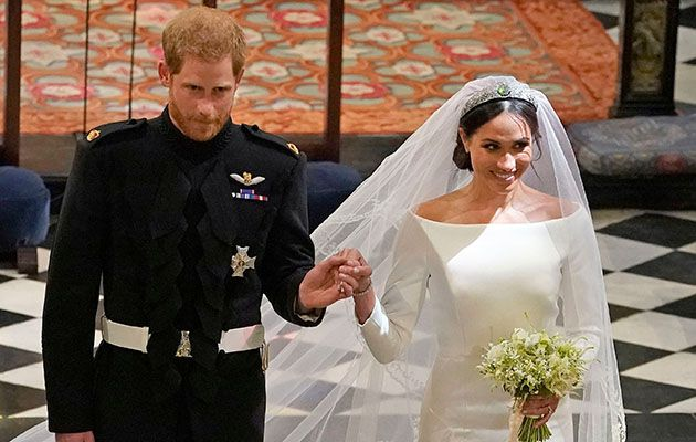 All Eyes Were On The Royal Wedding Of Prince Harry And Meghan Markle Saay With Coverage Being Broadcast In Homes Pubs Parks Across Country