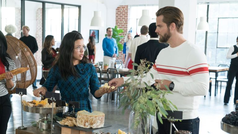 Mariana and Evan on Good Trouble