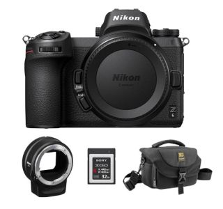Save $547 on the Nikon Z6 mirrorless camera with mount adapter and bag kit! | Digital Camera World