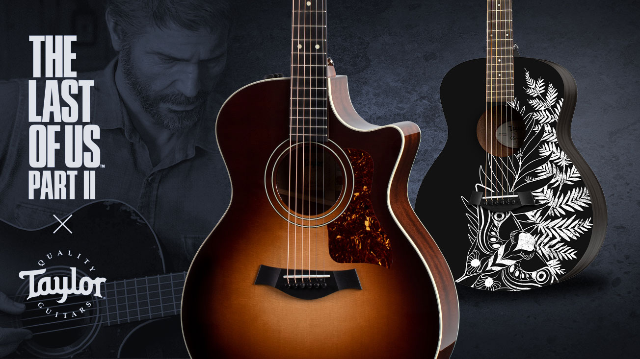 You Can Now Buy The Last Of Us Taylor Guitars Including A Replica Of Ellie S In Game Acoustic Guitar World