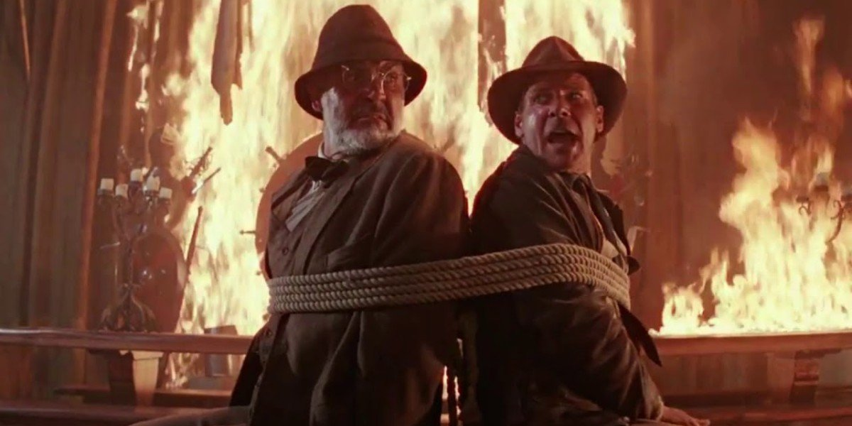 Sean Connery, Harrison Ford - Indiana Jones and the Last Crusade