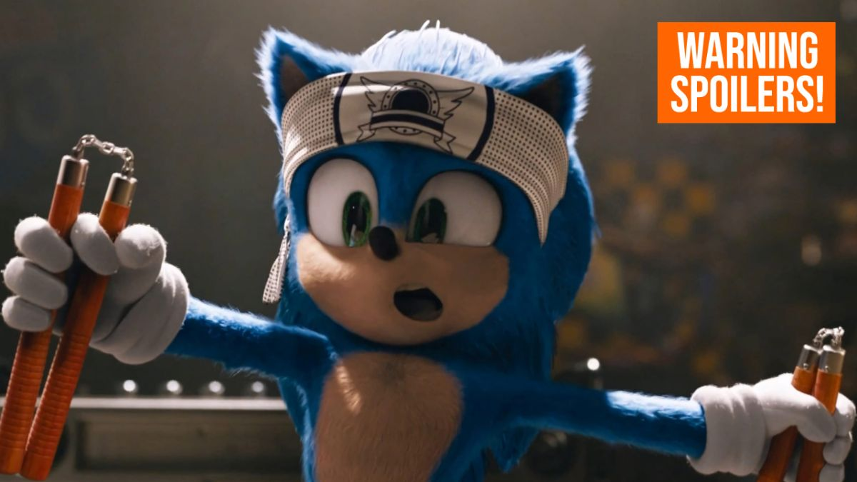Sonic Movie Easter Eggs Every Cameo And Reference To The Games Gamesradar
