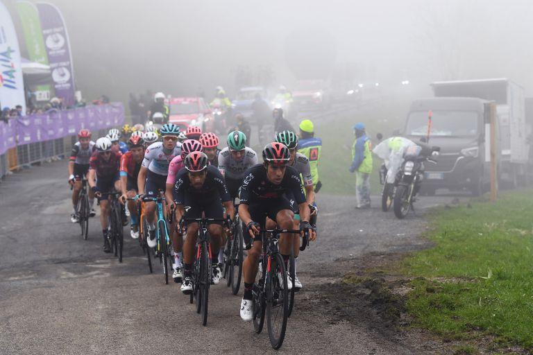 Monte Zoncolan at the Giro d'Italia 2021