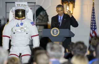 President Obama at White House Astronomy Night