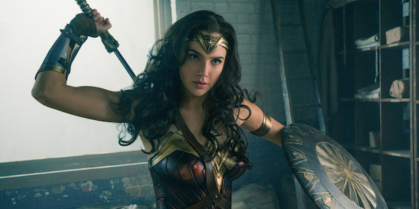 Wonder Woman with sword