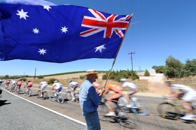 Tour Down Under 2010 stage one