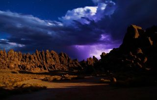climate change, global warming, lightning, CA, Alabama HIlls