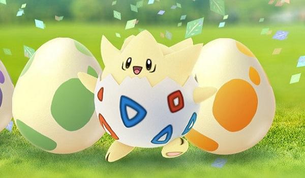 Eggs to celebrate the Pokemon Go Eggstravaganza