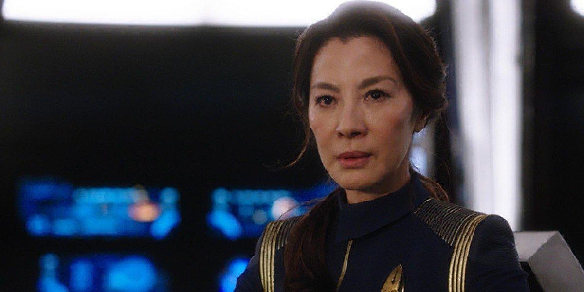 Michelle Yeoh on Star Trek Discovery