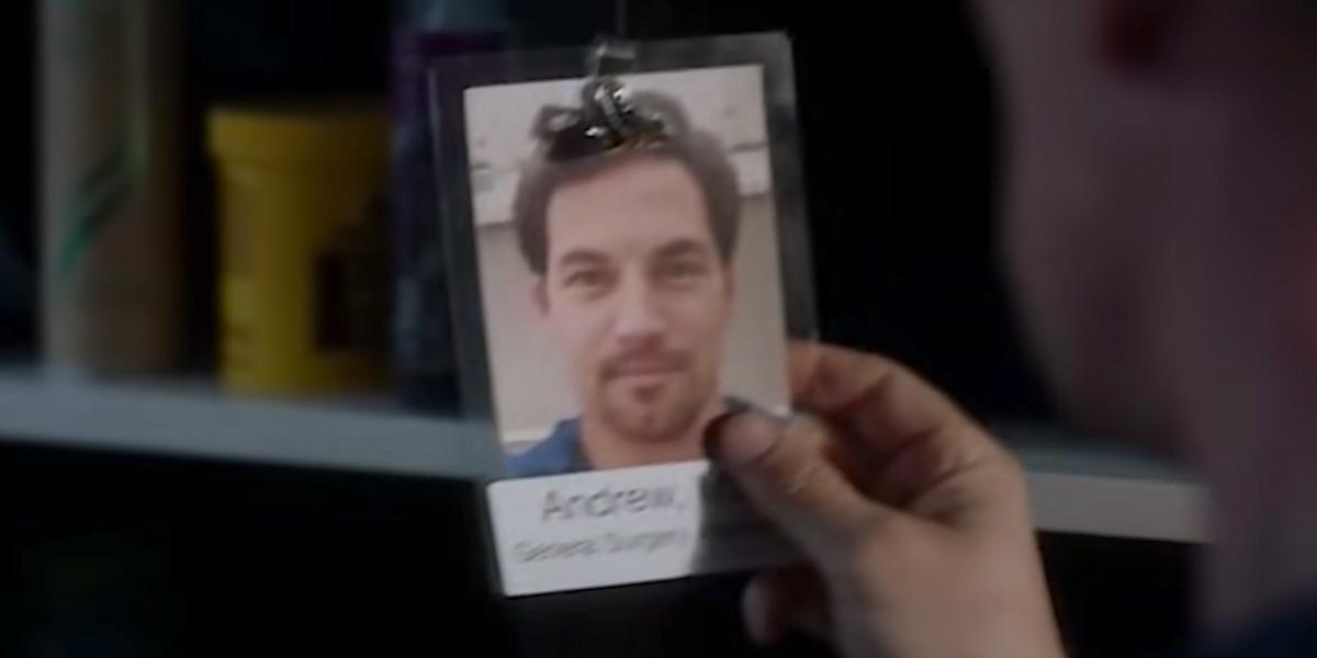 Grey's Anatomy Andrew DeLuca tag