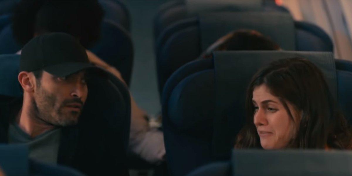 Tyler Hoechlin and Alexandra Daddario in Can You Keep a Secret?