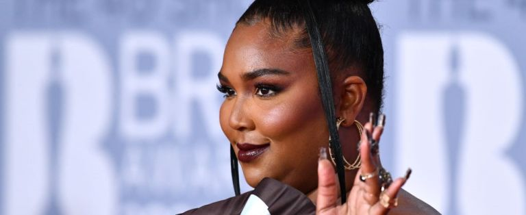 Lizzo attends The BRIT Awards 2020 at The O2 Arena