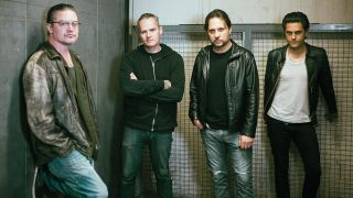 a dead cross press shot