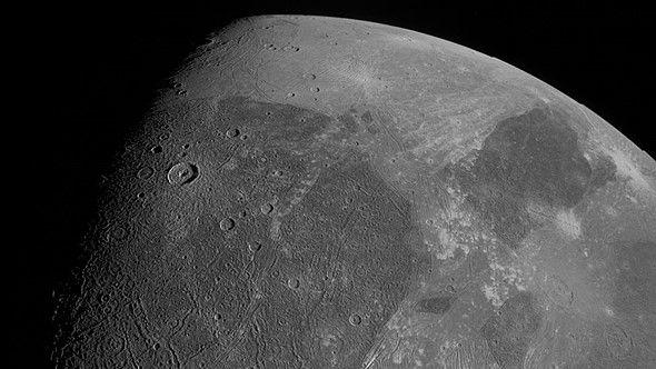 See this incredible photograph of Jupiter's giant moon – shot by NASA!