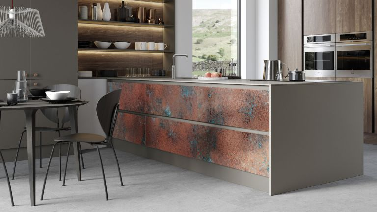metallic industrial kitchens