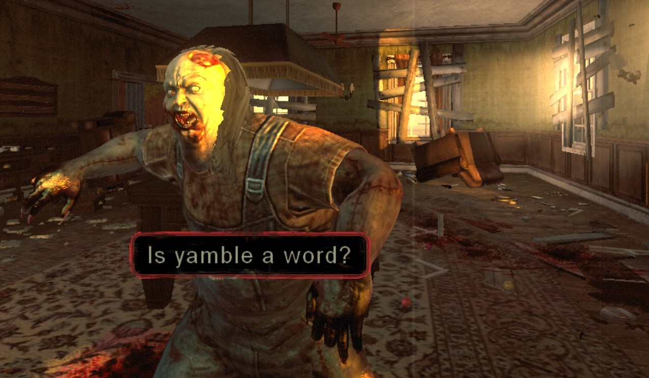 Typing of the Dead mod immortalizes 'how girl get pregant' and other classic Yahoo! Answers