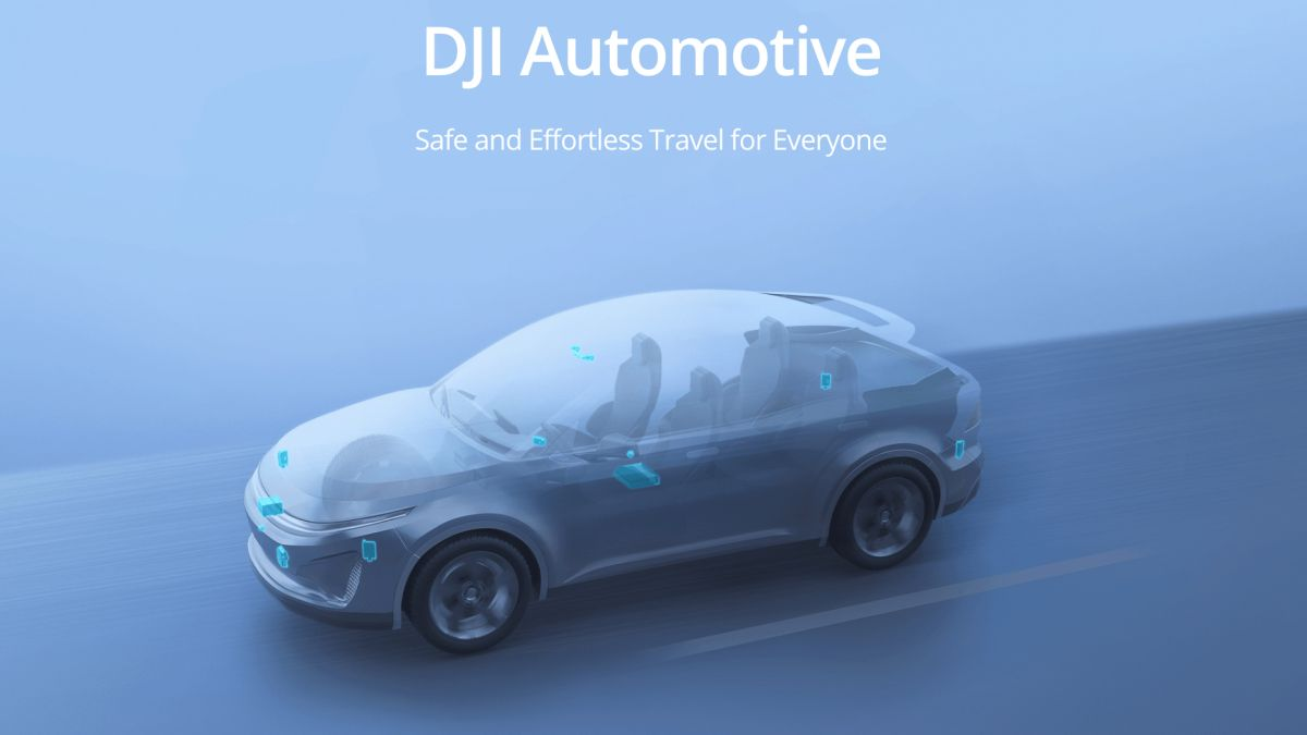 It's official: DJI is moving into self-driving cars