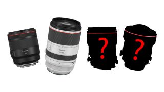 Canon's 2021 RF lens roadmap leak