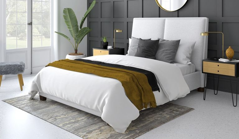 Bensons for Beds: Symmetry Your Bed Your Way Upholstered Bed Frame