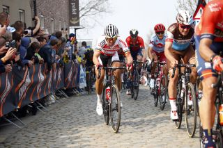 Two-time Tour of Flanders winner Stijn Devolder (Corendon-Circus) at the 2019 edition of the race
