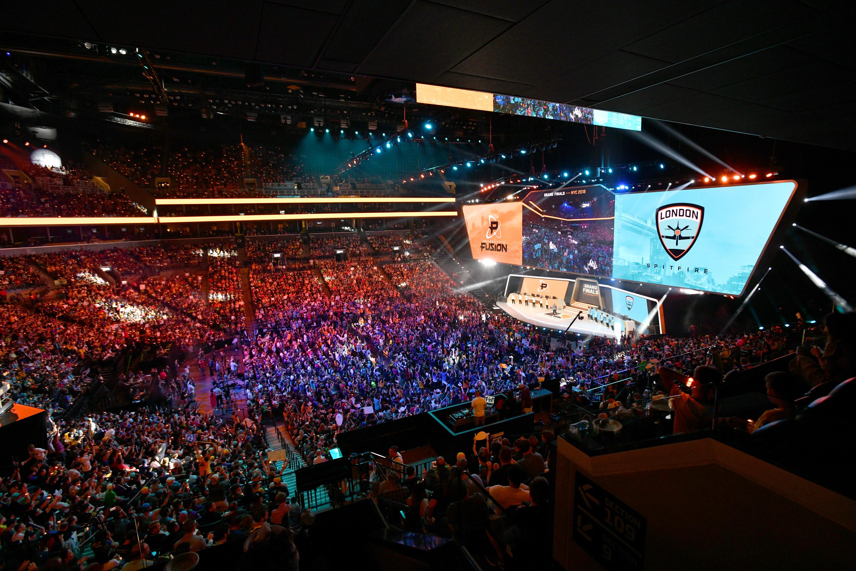 Overwatch League's grand finals will be held in Philadelphia