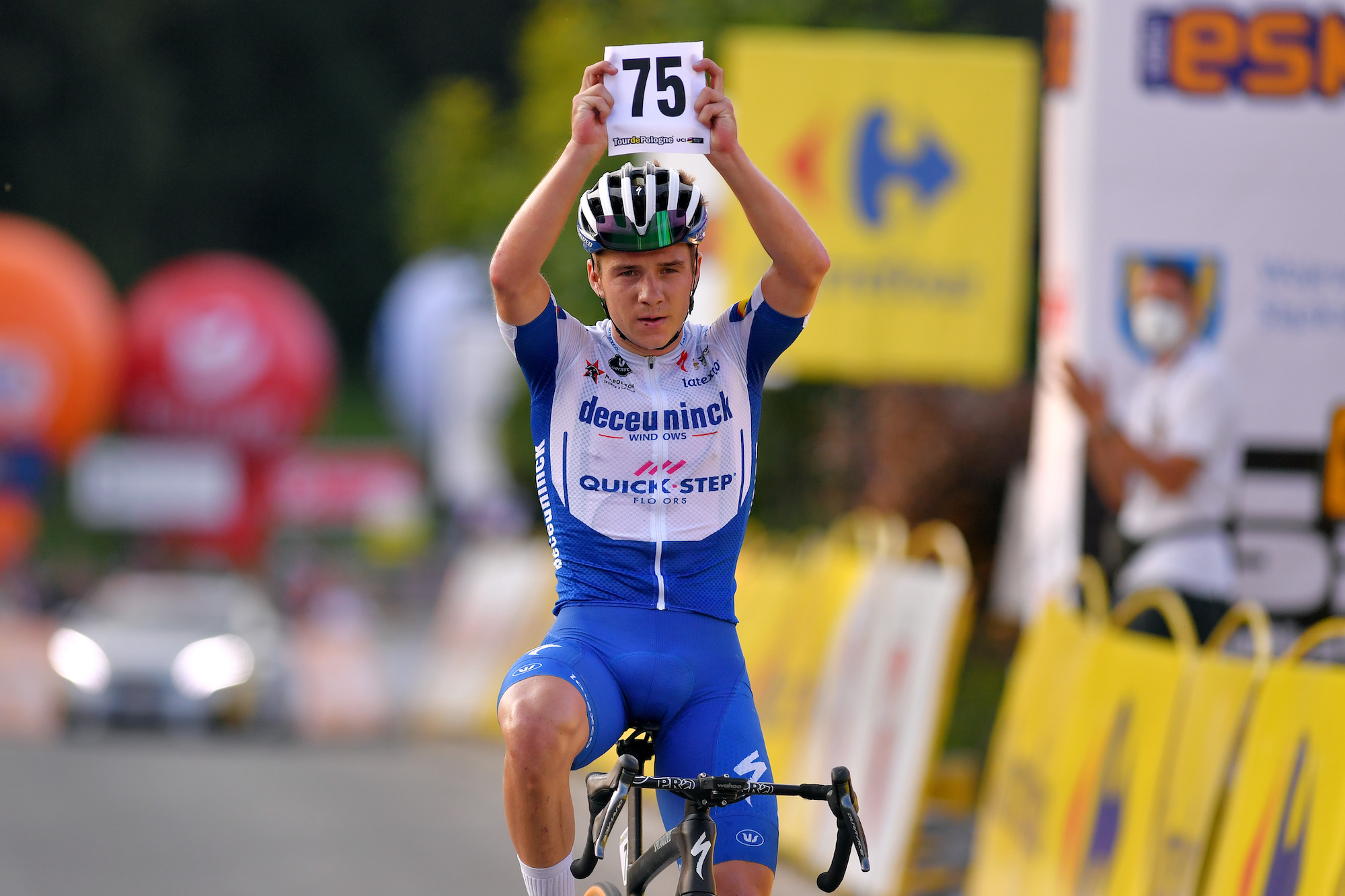 Remco Evenepoel says 'the fear of gaining weight was there' during his recovery as he drops 5kg - Cycling Weekly