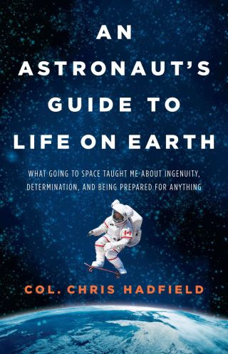 "Book cover art for ""An Astronaut's Guide to Life on Earth"" by Canadian astronaut Chris Hadfield, to be published Oct. 29, 2013."